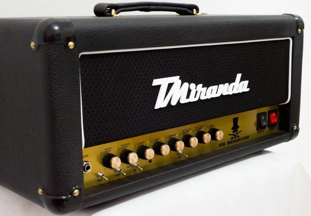 Mr. Brownstone Plus Head - Amplificadores Valvulados & pedais de efeito - TMiranda 3