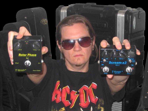 Joel Hoekstra - effect pedals