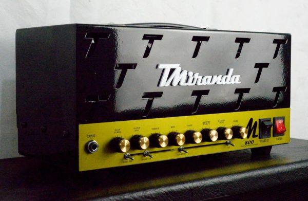 Amplificador valvulado M800 - Amplificadores valvulados  - TMiranda 2