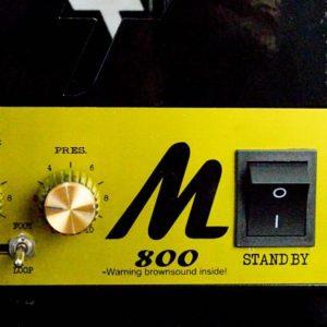 Amplificador valvulado M800 - Amplificadores valvulados  - TMiranda 1