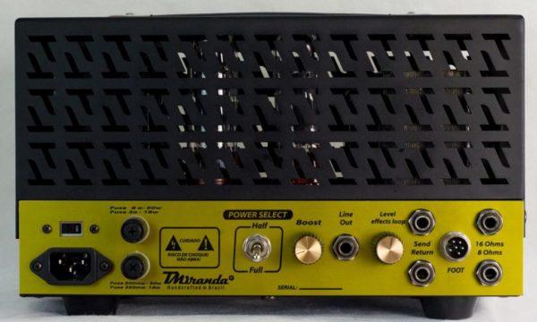 Amplificador valvulado Micro 800 - Amplificadores valvulados & pedais de efeito - TMiranda 10