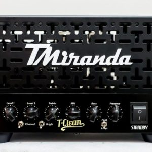 Amplificador valvulado TClean (50w ou 18w)