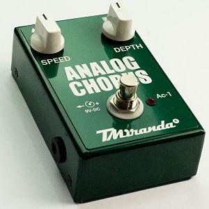 Analog Chorus AC-1 – pedal chorus