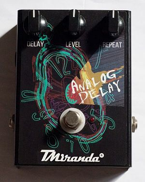 Pedal analog delay TMiranda