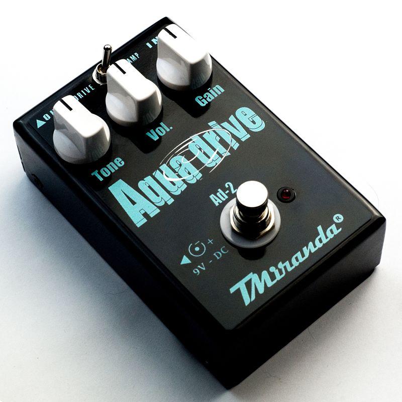 Aqua Drive - Amplificadores Valvulados & pedais de efeito - TMiranda 1