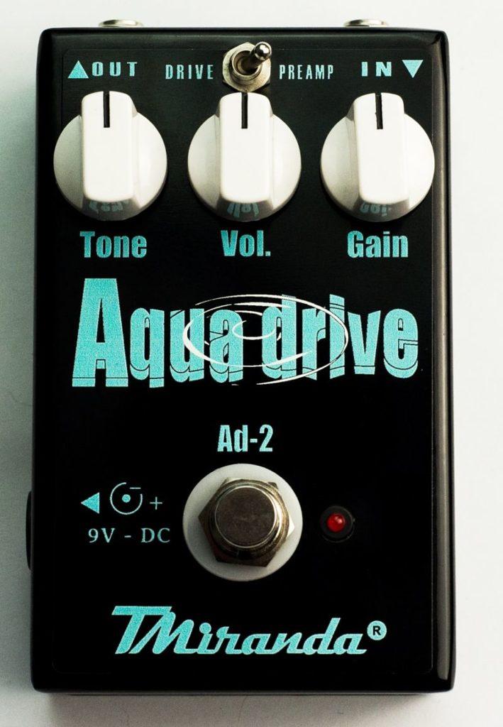Aqua Drive - Amplificadores Valvulados & pedais de efeito - TMiranda