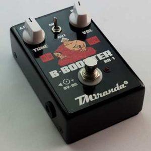 B-Booster Bb-1 / pedal booster de volume para contra baixo.