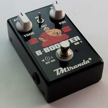 pedal booster de volume contra baixo