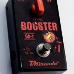 Booster para Guitarra GB-1 - Amplificadores Valvulados & pedais de efeito - TMiranda