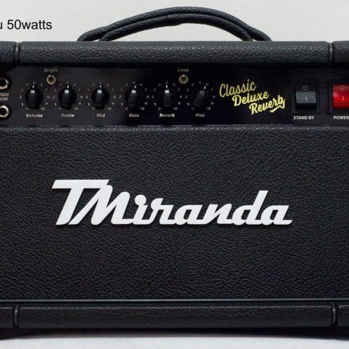 Classic Deluxe Reverb - Head - Amplificadores Valvulados & pedais de efeito - TMiranda