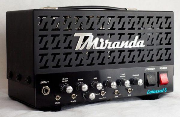 Colossal 3 50w (The Warrior)-High gain guitar tube amp - Amplificadores valvulados  - TMiranda
