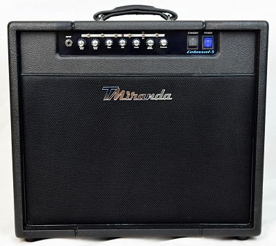 Colossal 3- 50w (The Warrior) - Guitar Combo - Amplificadores valvulados  - TMiranda