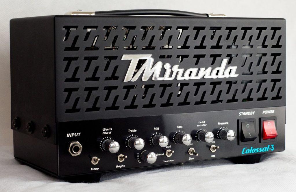 Amplificador valvulado high gain handmade