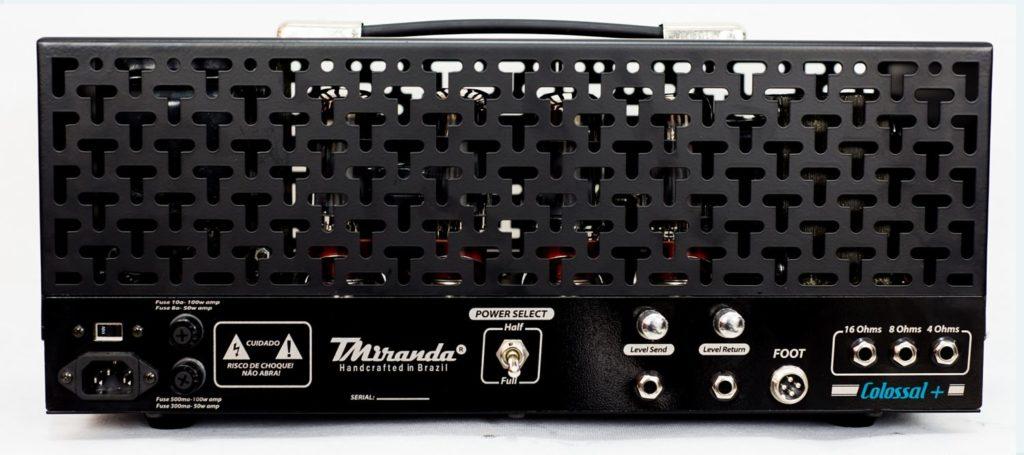 Colossal Plus Head - Amplificadores Valvulados & pedais de efeito - TMiranda 2