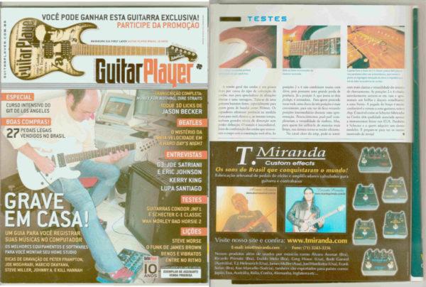Mídia - Amplificadores Valvulados & pedais de efeito - TMiranda 2