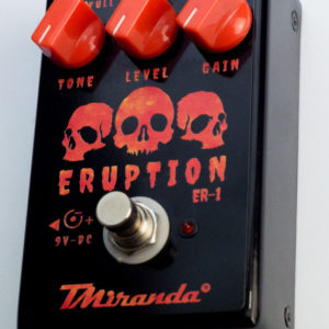 Eruption Er1- pedal de distorção
