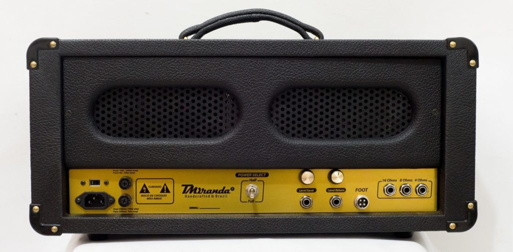Mr. Brownstone Plus Head - Amplificadores Valvulados & pedais de efeito - TMiranda 2