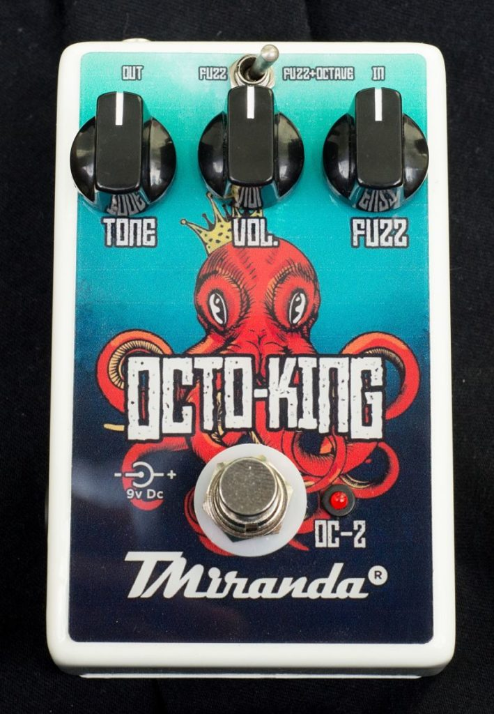 Pedal fuzz octave up