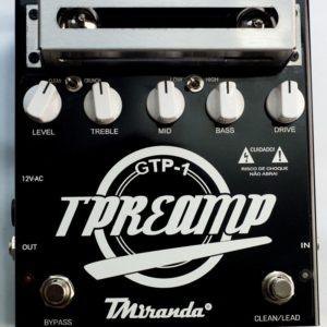 Guitar Tube Preamp (Gtp-1)- pedal de distorção valvulado