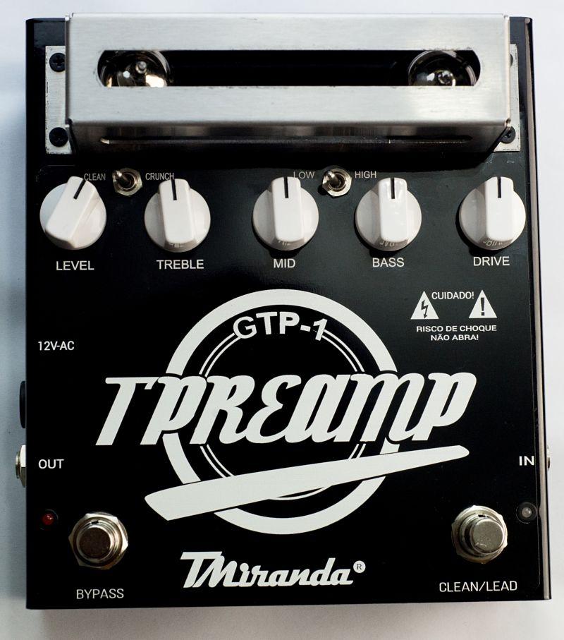 Guitar Tube Preamp - Amplificadores Valvulados & pedais de efeito - TMiranda 1