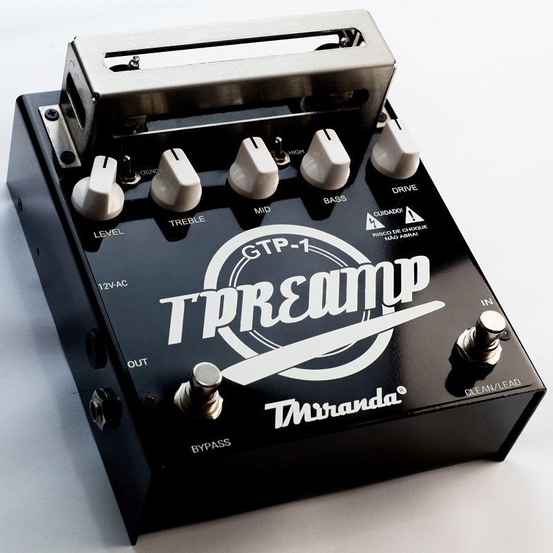 Guitar Tube Preamp - Amplificadores Valvulados & pedais de efeito - TMiranda 2