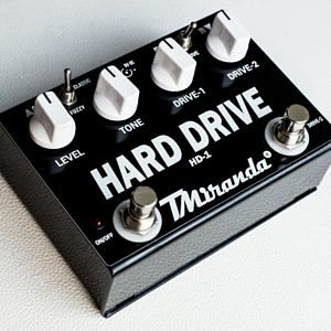Hard Drive HD-1 – pedal super overdrive