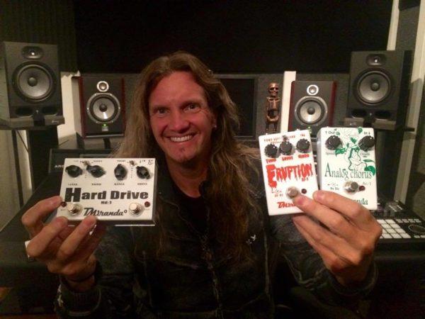 Joel Hoekstra pedals
