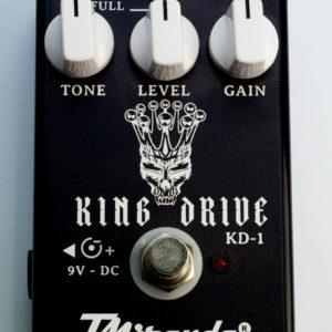 King Drive – pedal de distorção