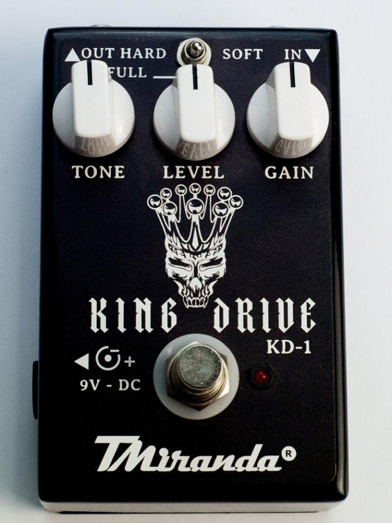 King Drive - Amplificadores Valvulados & pedais de efeito - TMiranda 4