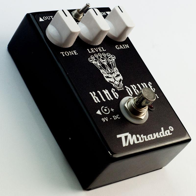 King Drive - Amplificadores Valvulados & pedais de efeito - TMiranda