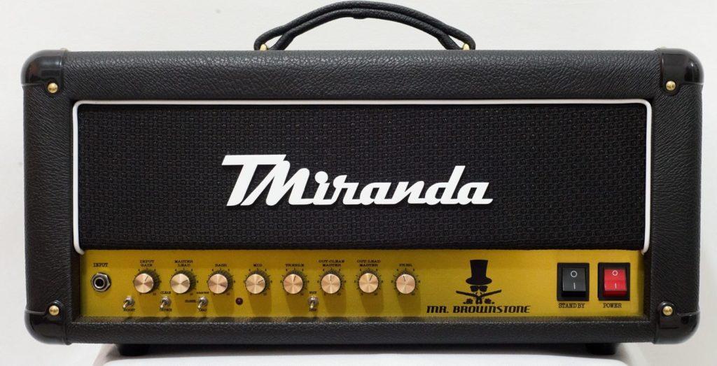 Mr. Brownstone Plus Head - Amplificadores Valvulados & pedais de efeito - TMiranda