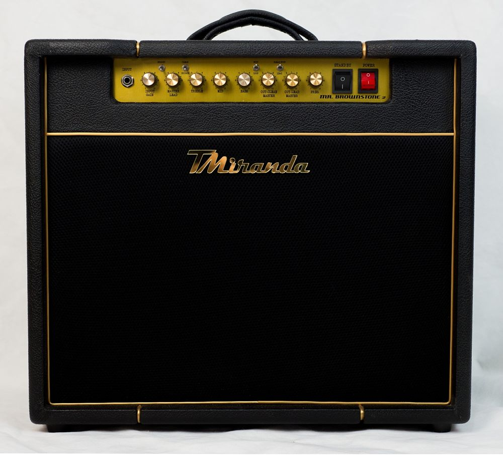 Mr. Brownstone 50w Cubo - Marshall Silver Jubilee jcm 2555