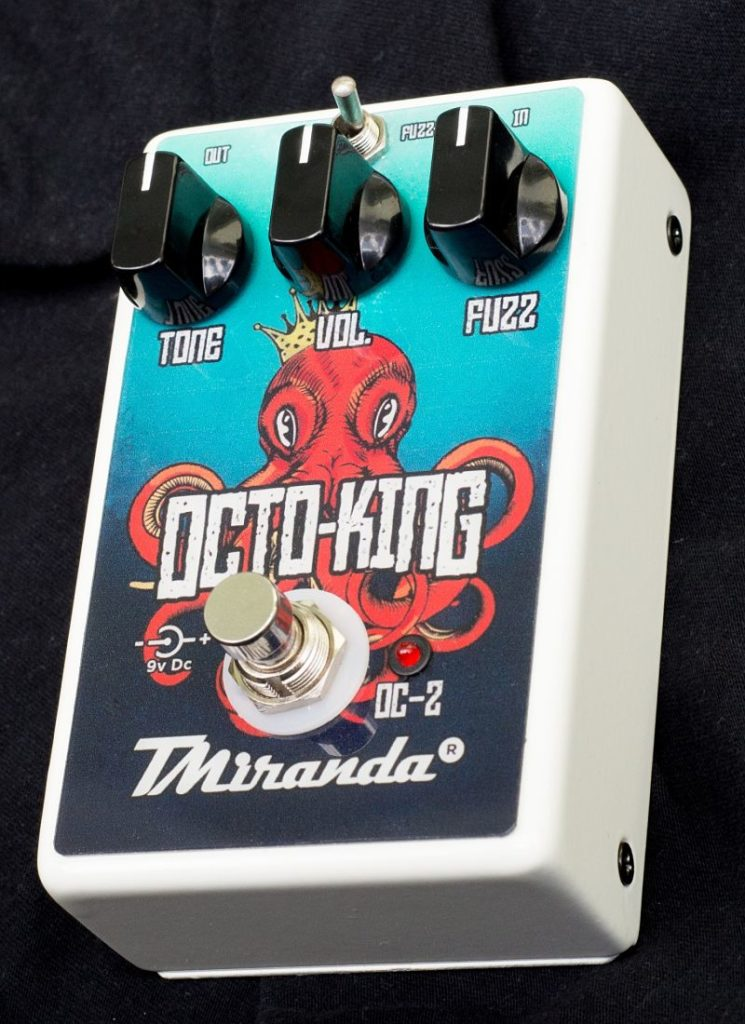 Octo King OC-2 - Amplificadores Valvulados & pedais de efeito - TMiranda