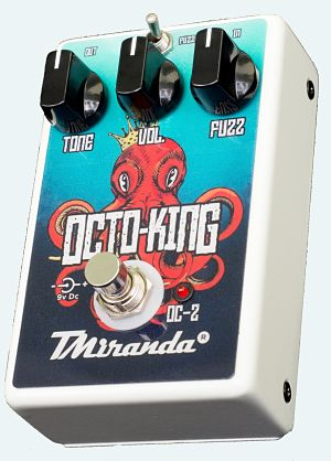 Octo King OC-2 - Amplificadores Valvulados & pedais de efeito - TMiranda 4