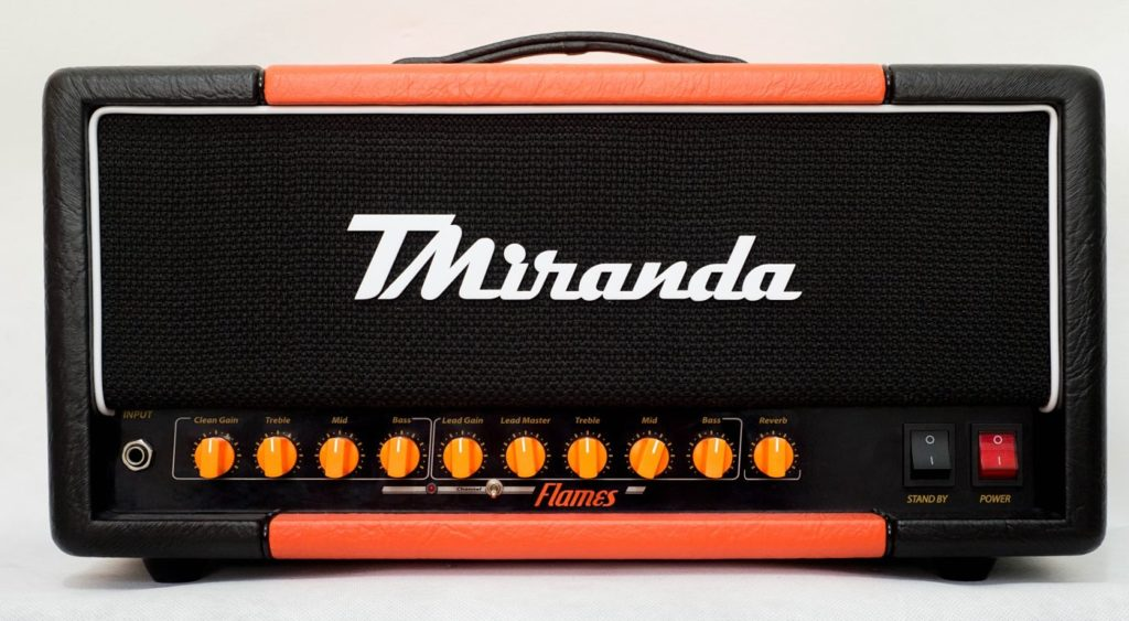 Amplificador valvulado orange rockerverb mkIII