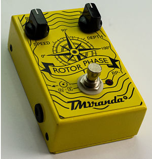 Pedal phase guitarra