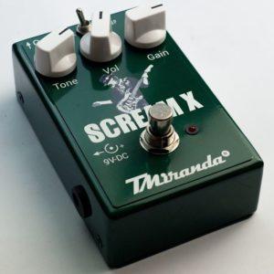 Scream X - Amplificadores Valvulados & pedais de efeito - TMiranda
