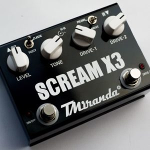 Scream X3 - Amplificadores Valvulados & pedais de efeito - TMiranda 1