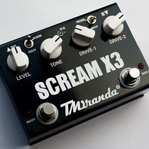 Scream X3- pedal super ovedrive