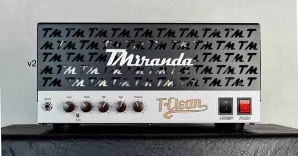Amplificador valvulado TClean (50w ou 18w) - Amplificadores valvulados  - TMiranda