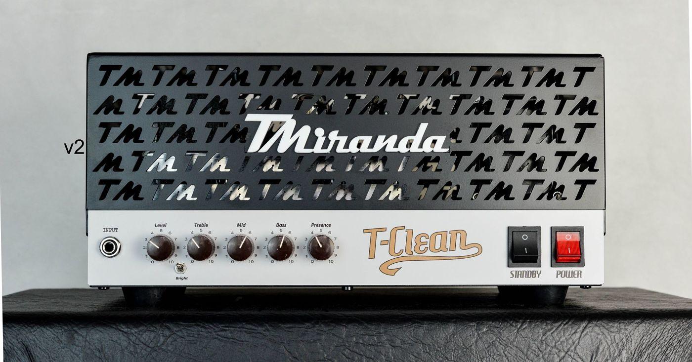 TClean (50w ou 18w) - Amplificadores valvulados & pedais de efeito - TMiranda
