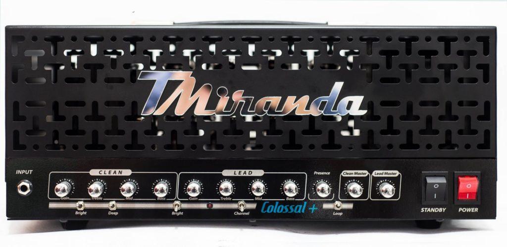 Colossal Plus Head - Amplificadores Valvulados & pedais de efeito - TMiranda 1
