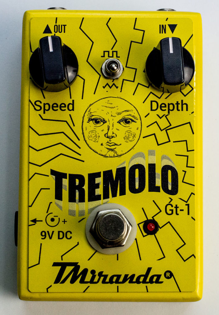 Tremolo GT-1 - Amplificadores Valvulados & pedais de efeito - TMiranda