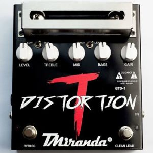 Tube Distortion (GTD-1) – pedal de distorção valvulado