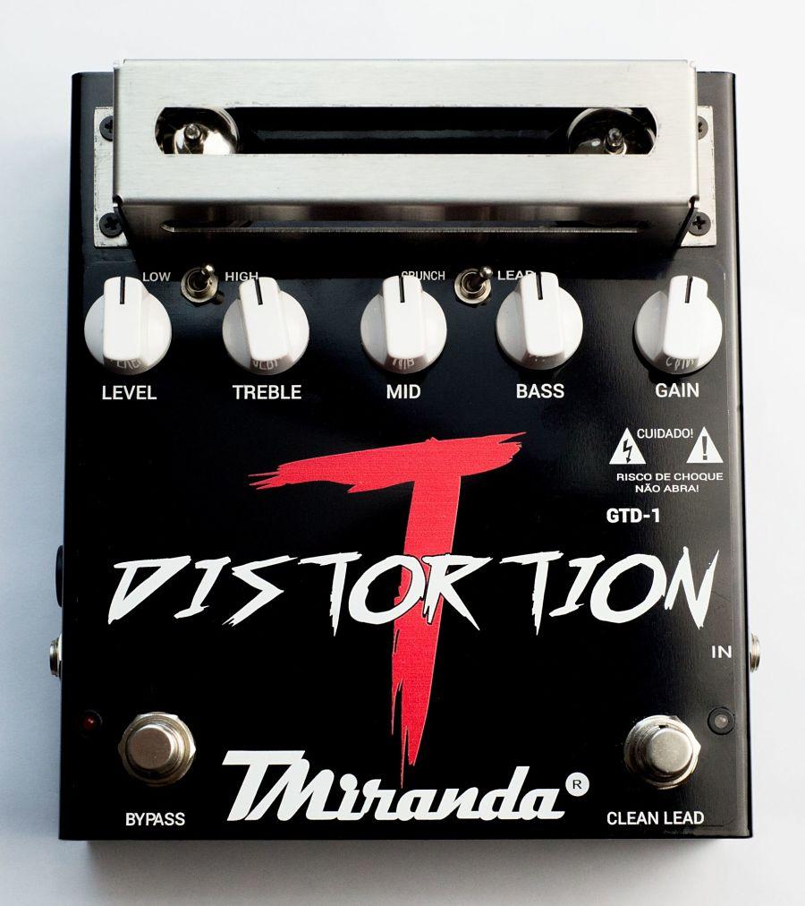 Tube Distortion GTD-1 - Amplificadores Valvulados & pedais de efeito - TMiranda