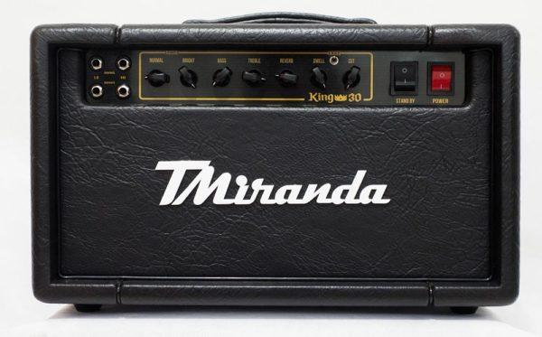 King 30 Head - Amplificadores Valvulados & pedais de efeito - TMiranda