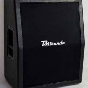 Speaker Cabinet 2 x 12 vertical Black