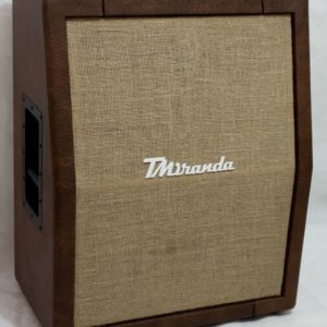 Speaker Cabinet 2 x 12 vertical-Brown sugar