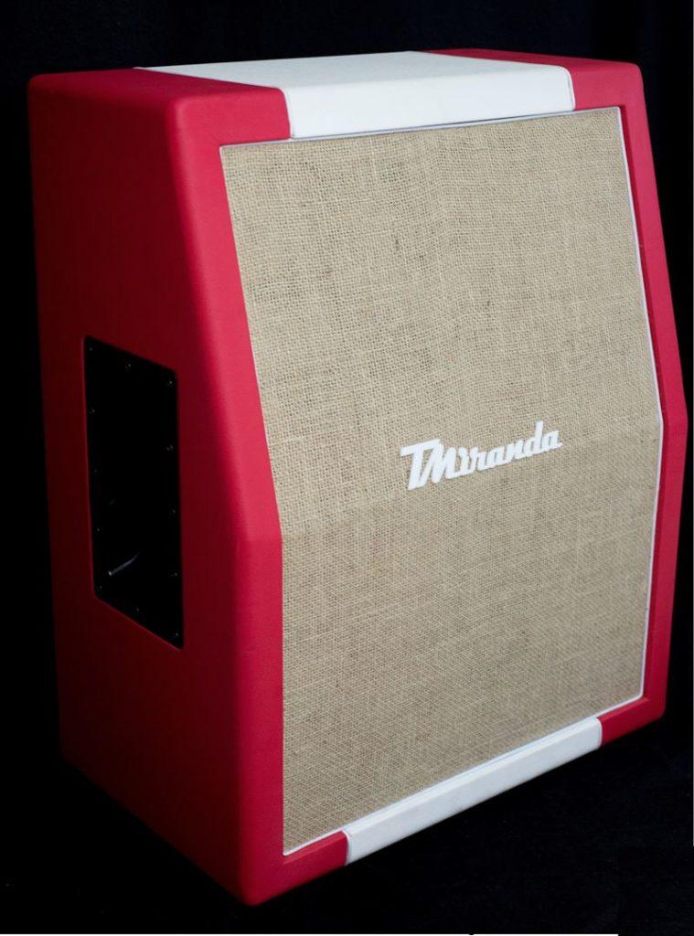 Speaker Cabinet 2 x 12 Red Velvet - Amplificadores valvulados & pedais de efeito - TMiranda 2