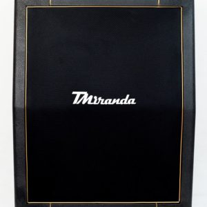 Speaker Cabinet 2 x 12 vertical Black- gold